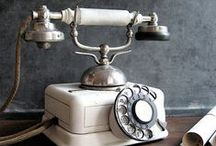 ♥ Old telephon, telephone booth