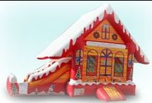 Winter in Florida / Florida is the only state you can roll out inflatables and light up the mechanical rides during Winter, so take advantage of it and order your attractions for your next festival! www.celebrationsource.org