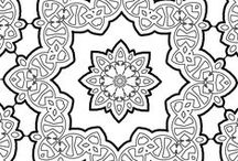 Mandalas made by me / I try to create Mandalas. They bring so much calmness while coloring them. So print these and enjoy!