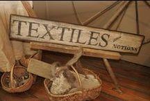 ♥ Antiques textiles ... ♥