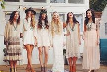 Boho Wedding / All that is unique, unusual and alternative in the wedding world...showing people's individuality through their day. Boho loves a traditional wedding but also loves doing things differently. Boho means you create the wedding you want, not the wedding you're told to have!