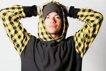 Mens Hoodies / Unique Handmade Mens Hoodies and Clothing