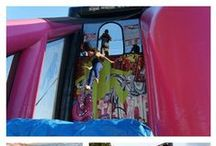 Extreme Inflatable Fun! / Host a party with some of our most extreme inflatables! Who says bounce houses are only for kids? Adults can have fun too!