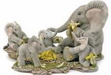 Tuskers/Henry / World famous, cute Tusker figurines. I own a few myself since I'm a fanatic elephant collector since 1976