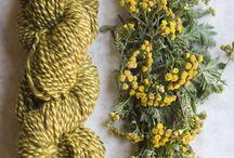 Craft Color Palette Schemes / Color inspiration for knitting crafts