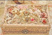 Shiny & Bright / Ornaments for the person...jewels, precious metals & stones.