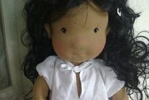 """Waldorf doll / Adele,21""""inch natural doll"""