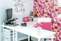 Craft Room Design / My dream craft + knitting rooms full of design inspiration.