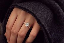 Ring / Diamonds, crystals, gold, silver, white gold, engagement ring, wedding ring