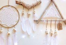 Craft Dreamcatchers / Dreamcatcher DiIY craft how to inspiration for boho design style
