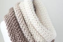 Knit Scarf Patterns / Knit a Scarf easy for beginning knitters with free knitting pattern and tutorials