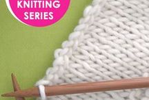 Absolute Beginner Knitting Series / Learn How to Knit in the Absolute Beginner Knitting Series with Video Tutorials by Studio Knit
