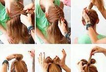 peinados paso a paso. / Fáciles rápidos y lindos :)