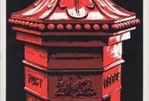 PRINTMAKING: Relief - Colour / Linocuts, Woodcuts, Wood Engraving - Multi-block or Reduction prints / by Paul Stevens