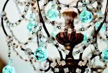 Not without her chandelier! / Panache's deep love of beautiful light fixtures