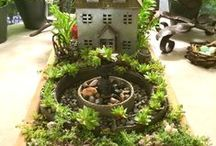 Miniature Gardens / All about miniature gardens (also known as Fairy Gardens) ... featured at the Dovecote Garden & Porch center in Cashiers, NC. Dovecote is place for garden ideas, plans and the offices of Mary Palmer Dargan, landscape architect. See more at http://dargan.com/