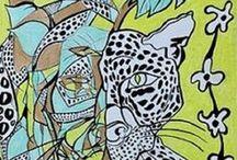 Animal Art / Animali selvaggi Available print on canvas