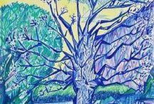 Blue Art / Colore blu