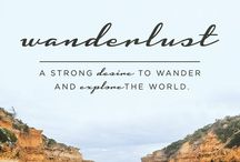 Wanderlust: Places I want to visit