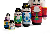 Nutcrackers / Lots and lots of cute & ugly nutcrackers.  / by Marylou Howard