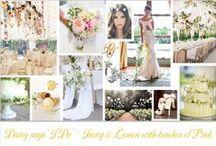 Wedding Inspirtion ~ Daisy says 'I do': Daisy Wedding Inspiration / Daisy wedding dresses, boho bride, summer wedding, elegant, chic, daisys, natural,
