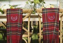 Inspiration - Tartan Scottish Wedding