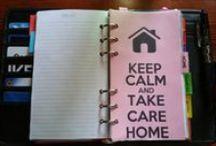 Planning and Organize / Consigli e spunti per l'organizzazione della casa e non solo