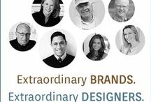 extraordinary brands & designers / Innovative & on trend collections by the best names in design. Discover the best.