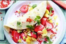 Aardbeien / Aardbeien: het kan je als kind zo blij maken! De kleuren zijn prachtig en de smaak is heerlijk. We delen graag met jullie heerlijke recepten met deze prachtige vrucht.
