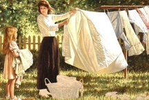 Hanging out at the Clothesline / by Marilyn Gearren