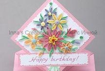 Cards---Flowers / by Marilyn Gearren