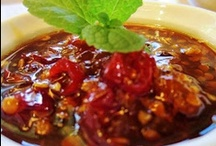Recipes- condiments, Sauces, dips, jams, salts
