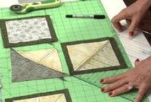 Quilting---patterns / by Marilyn Gearren