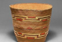. woven pieces . vessels .