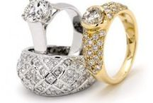 Diamond Rings / Glittery and marvelous diamond rings from Anania Jewellers in Sydney