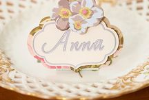 Anna Griffin~*~ / Anna keeps old and lovely things alive in a very modern world.  I love all of her products and beautiful designs!
