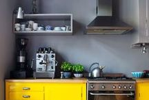 Kitchen (and herbs?) / Ideas for our small old kitchenette. And maybe for the future one too :-)