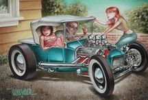 Hot Rod art / Hot rod art and images, new and vintage. / by Kenny Berg