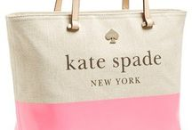 Kate Spade / I love anything Kate Spade!  The products are classic and whimsical with bows, stripes and polka dots always in the collection. I can count on quality jewelry, beautiful leather bags and great tech accessories. / by Joee Balestrieri