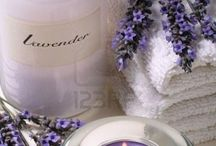 Lavender Love~*~ / Lavender is a gift from the earth with a scent like no other.  It's amazing that this delicate flower calms and relaxes us and aids in restful sleep.  We love the color and we love soaps, lotions and sachets made with lavender.