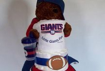 Sheena & Kyle Baby Shower / NY Giants Themes & General Baby Shower Ideas / by Ali B