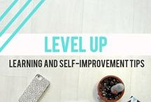 + Level up: Learning and self-improvement + / Tips and motivations to boost your career, learn new skills and achieve your goals. Self-improvement options, inspirations, online learning resources and productivity and business tools for the girlboss.
