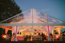 Clear Roof Marquees / Create the wedding of your dreams with a clear roof marquee. Dance under the stars under twinkling warm lights with all of your guests.