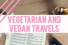 + Vegetarian & vegan travels + / Where to eat vegan and vegetarian food when travelling abroad - the best restaurants and cafes, from meals to snacks. Best cities for vegetarian and vegan travellers.