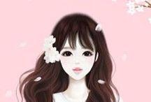 ENAKEI~*~ / These sweet girly renderings just make me smile.
