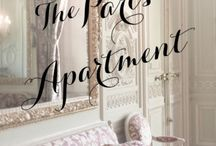The Paris Apartment~*~ / Living in a Paris apartment is such a lovely dream.  Exploring the history of Paris, speaking French and drinking in the view from your balcony.  What fun to gather BROCANTE furnishings for a cozy apartment!