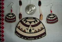 native beadwork and basketwork / by Dessie Buitron