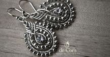 Wirework / Bijutaria em arame / Jewellery made using wire working // Bijutaria com arame de metal
