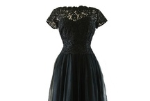 Timeless chic - vintage glamour / A collection of original vintage gowns and dresses which possess that covetable quality of being timelessly chic and glamourous!