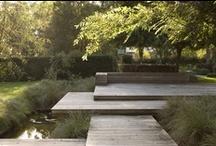 Modern green garden